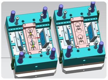 双色流水灯整机电路图电路功能
