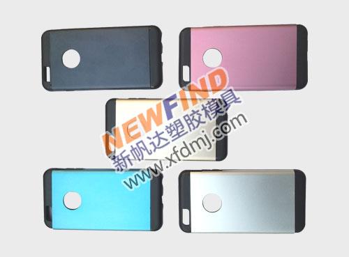 iphone6 plus双色手机保护套塑胶模具