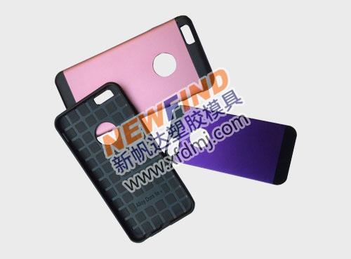 iphone6双色铝片手机保护套模具