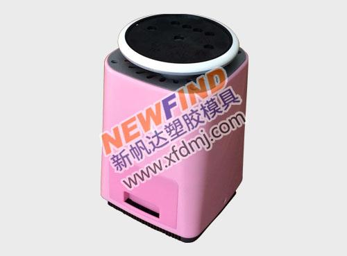 双色喷雾化蒸脸加湿器香薰机塑胶模具